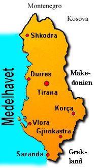 saranda karta Albaniensemester saranda karta
